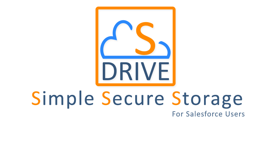 Simple Secure Storage S-Drive